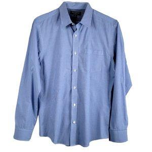Banana Republic   Blue Plaid Button Down Shirt